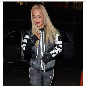 5bfdac1c3 Adidas Jackets   Coats - Adidas Originals Rita Ora Mystic Moon Crop Bomber